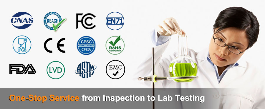 One-stop Service from Inspection to Lab Testing